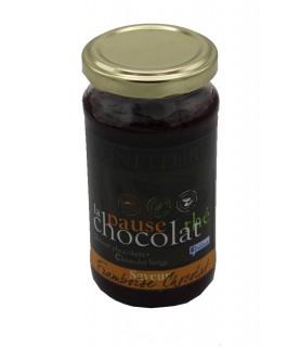 Confiture framboise chocolat